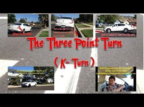 k turn diagram driving 101 three point turn also known as the k turn