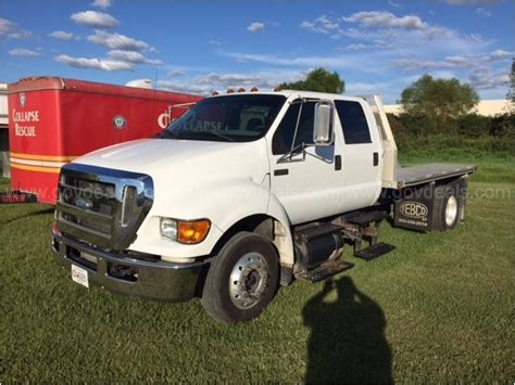 2008 Ford F650 Flatbed Trucks For Sale 14 Used Trucks From