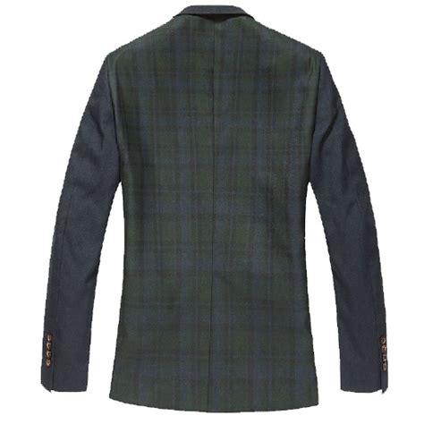 Fashion Style Korean Style Green Blazer new sale exclusive korean hit color plaid green blazer