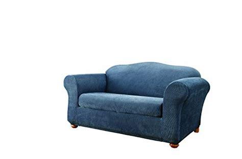 sure fit stretch stripe 2 sofa slipcover sofa slipcovers sure fit stretch stripe 2 sofa