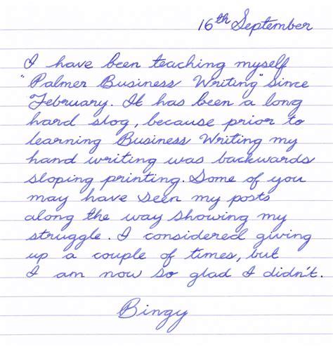 Business Letter Writing Method palmer method cursive writing palmer handwriting practice