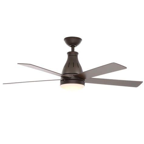 Hampton Bay Dual Ceiling Fan Hampton Bay Cobram 48 In Oil Rubbed Bronze Ceiling Fan
