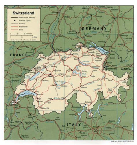 maps  switzerland