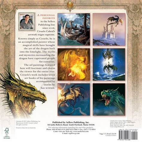 dragon witches calendar the 1416297928 2018 dragon calendar by ciruelo dragon calendar fairyglen com