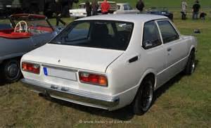 Toyota Corolla Ke30 Coupe Toyota 1978 Corolla Ke30 2door Sedan The History Of Cars