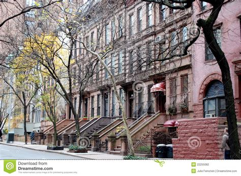 Manhattan Apartments West Side For Sale Brownstones On The West Side Editorial Photography