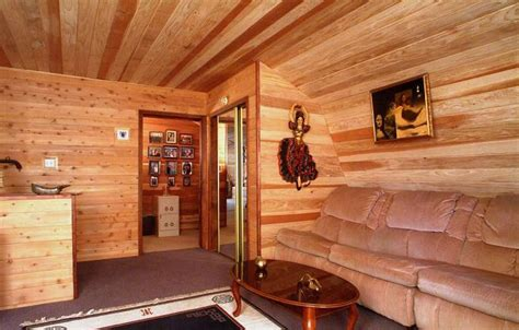 Log Cabin Paneling by Interior Log Cabin Paneling Tips Interesting Ideas For Home