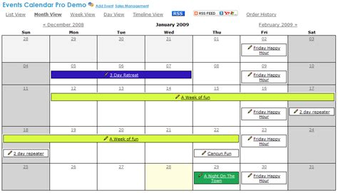 Event Calendar Pro Add Ons Event Calendar Pro Mojoportal