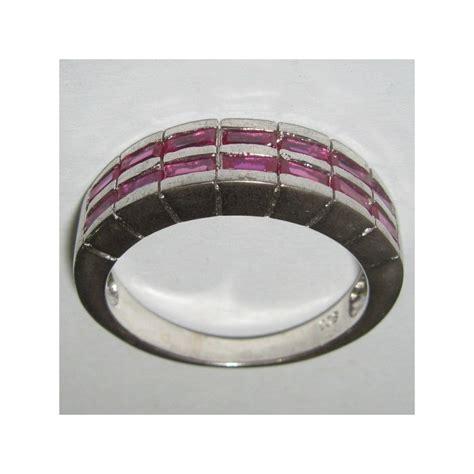 Cincin Nama Silver Pasir Model 2 cincin pria silver 925 model ruby cz untuk hadiah ultah