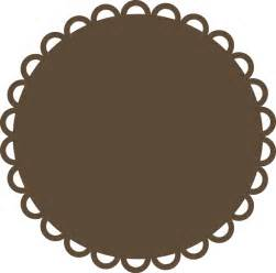 circle scallop svg file svg files for scrapbooking cute