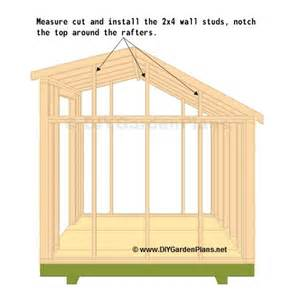 truss saltbox shed plans page 8