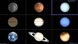 what colors are the planets colors of the 9 planets pics about space