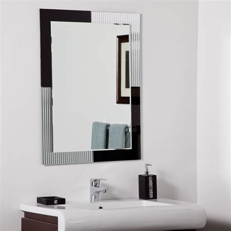 decor modern bathroom mirror beyond