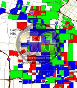 San Jose Gang Map by Gang Territory Map Data For Los Angeles County