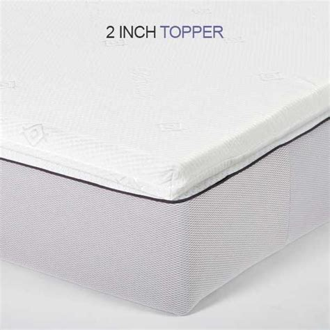 King Bed Foam Topper Deluxe King Memory Foam Mattress Topper Toppers