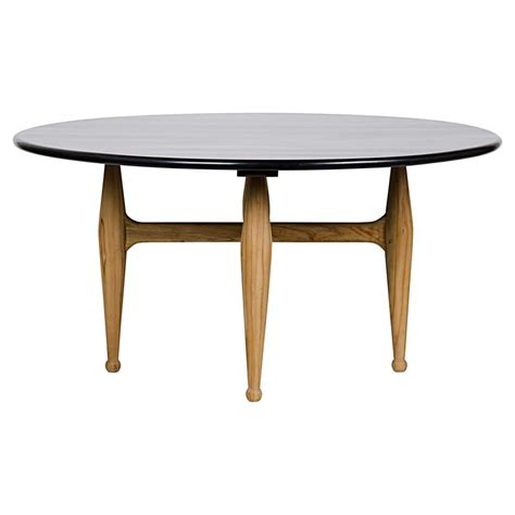 Modern Mahogany Dining Table Granville Modern Teak Rubbed Black Mahogany Dining Table Kathy Kuo Home