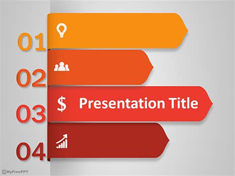 free powerpoint menu template free menu powerpoint
