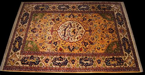 phoenox rugs historical safavid kashan rug quot quot rewoven after four centuries