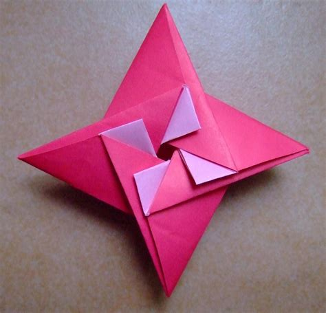 pattern for fold up box origami shruiken star box with pattern origami shruiken