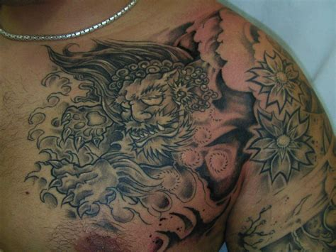 foo dog tattoo tattoos designs ideas and meaning tattoos for you
