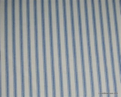 upholstery ticking ticking stripe blue and white classic stripe heavy weight