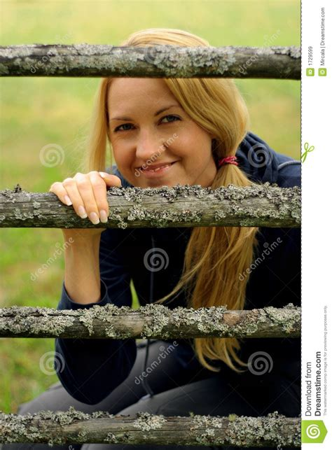 country comfort pretty girl country girl stock image image of grass caucasian girl
