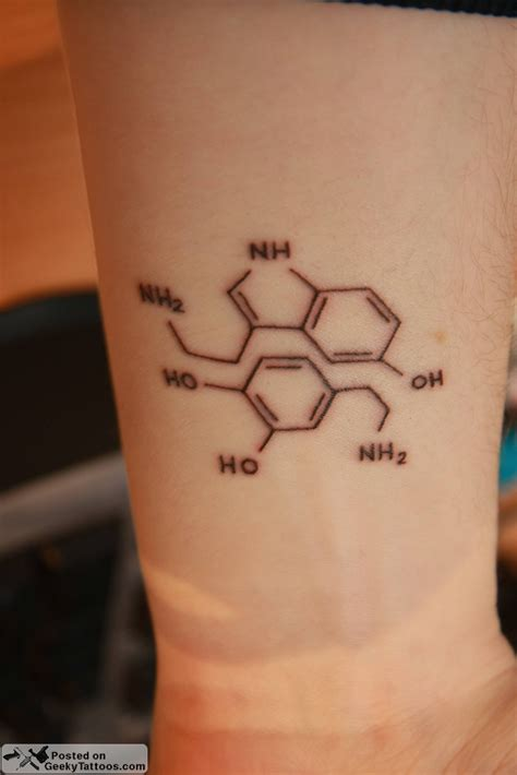 chemical structure tattoo world of biochemistry about biochemistry