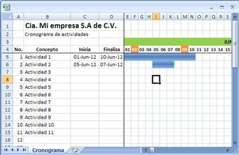 Como Hacer Un Calendario De Actividades C 243 Mo Crear Un Cronograma 250 Til Mil Comos Mil Comos