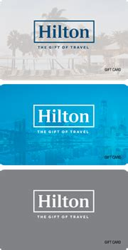 Hilton Honors Gift Card - hilton honors gift cards