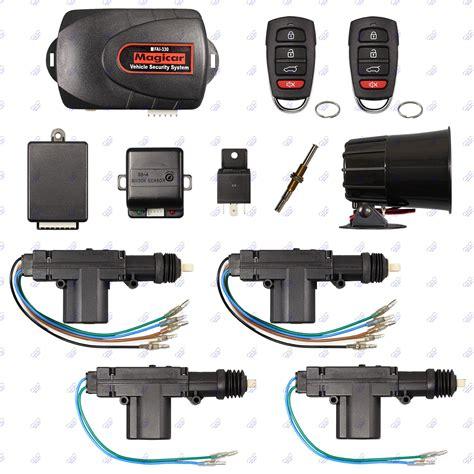 Alarm Remote Buat Motor remote car alarm keyless entry security 4 door power