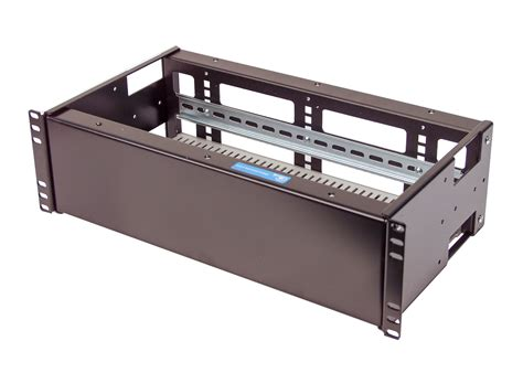 Rack Din Rail by 3u Rackmount Dual Din Rail And Solid Panel For Standard 19