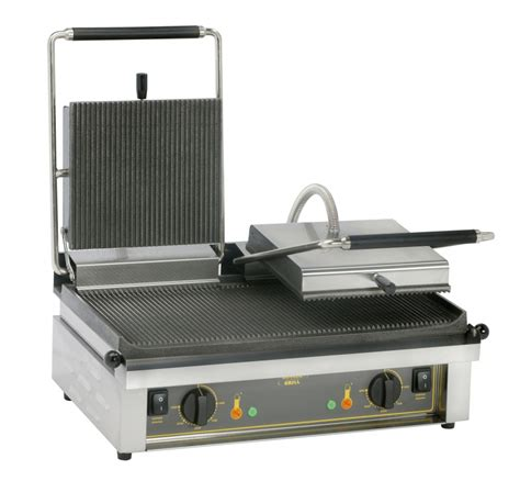 Sandwich Toaster Press Double Contact Grill For Sandwich Steak Majestic Catering
