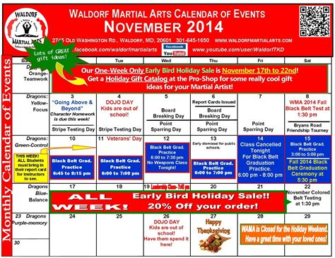 Calendar For November 2014 November 2014 Calendar Events Images