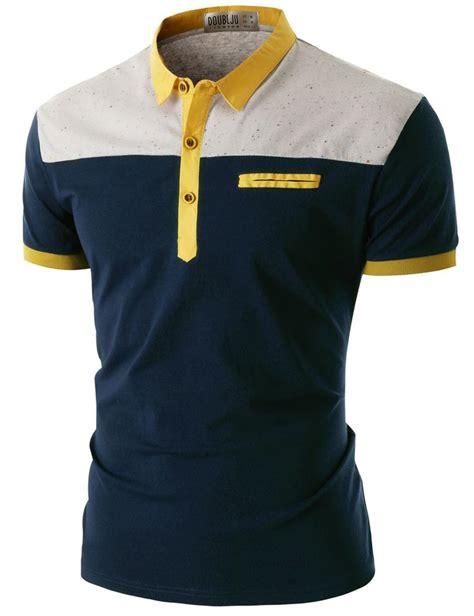 Polo Shirt Kaos Kerah Polo Tshirt Nike Sport Putih List Merah doublju s sleeve pocket polo shirt cmtts016 doublju fashion for me