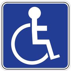 handicap decal nostalgia decals