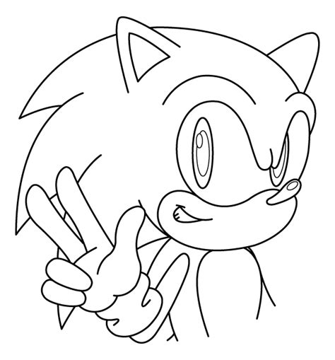 Sonic Coloring Pages sonic coloring pages 2 coloring pages to print
