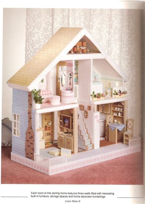 doll house patterns plastic canvas doll house patterns myideasbedroom com