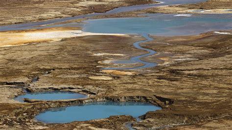 imagenes impresionantes del mar muerto fotos el mar muerto a punto de desaparecer dejando