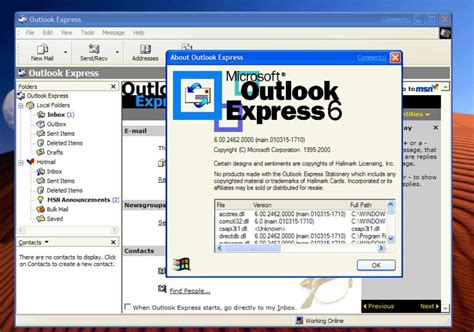how to and use outlook express in windows 10 8 or 7