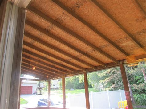 finish   porch ceiling   inexpensive