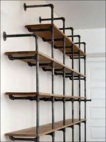 galvanized pipe shelves 1000 ideas about galvanized pipe shelves on