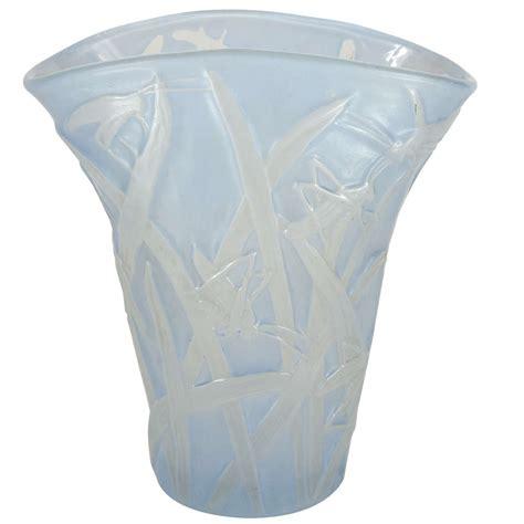 Pale Blue Vase by Deco Pale Blue Grasshopper Vase By The Glass
