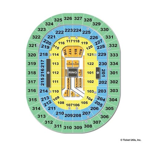 seating at moda center moda center portland or seating chart view