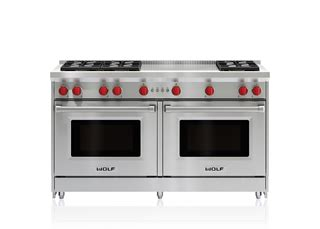 60 inch gas cooktop 60 quot gas range 6 burners and infrared dual griddle