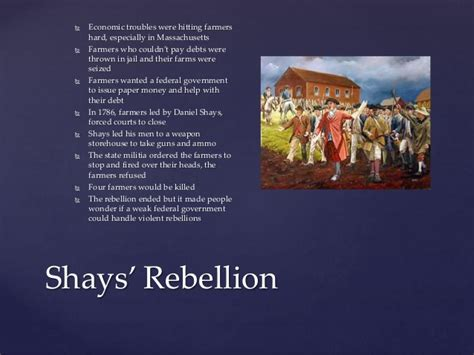 Shays Rebellion Essay by Articles Of Confederation