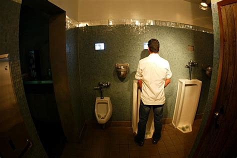 how to record someone in the bathroom the six rules of men s bathroom etiquette