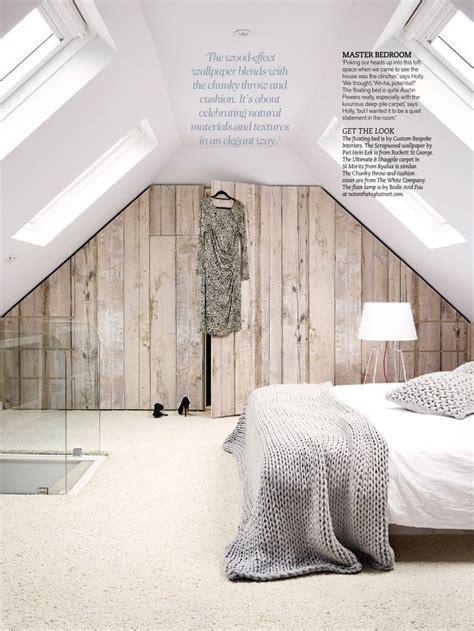 Bedroom. Wood effect wallpaper.   For the Home   Pinterest Wood Wallpaper Bedroom