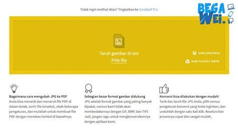format jpg ke pdf cara merubah jpeg ke pdf secara offline dan online