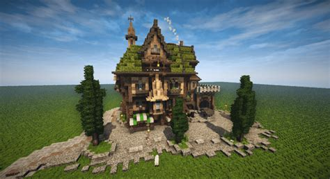 medieval house skyrim inspiration timelapse download minecraft project medieval tall house timelapse download minecraft project