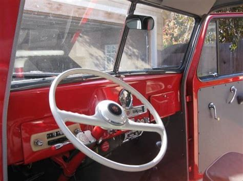 willys jeep truck interior perfect enough bargain 1955 willys wagon 4 215 4 bring a